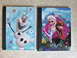 Set of 2 Disney Frozen Composition Notebooks
