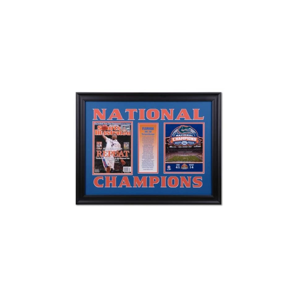 2007 NCAA Basketball Champs Sports Illustrated Cover with Football