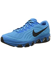 Nike Air Max Tailwind 6 Men's Running Shoe, Vivid Blue/Black/Glacier Ice