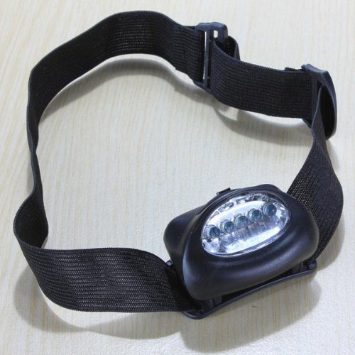 Waterproof 5 LED Bike Headlight Headlamp 7 Modes for Hunting Fishing . (Head Beam Setter compare prices)