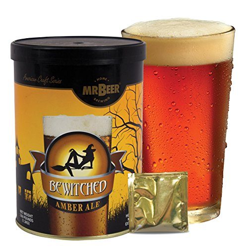 Mr. Beer Bewitched Amber Ale Homebrewing Craft Beer Refill Kit (Diy Beer Kit compare prices)