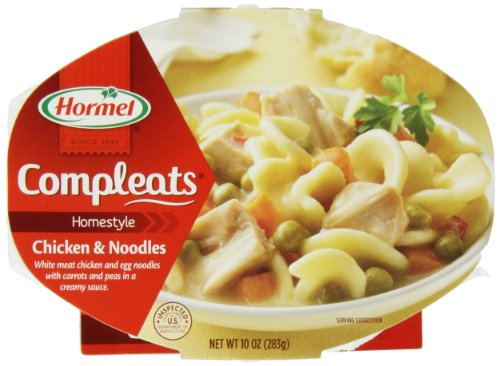 Hormel Compleats Chicken & Noodle, 10-Ounce Packages (Pack Of 6)