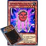 YuGiOh : NUMH-EN005 1st Ed Gimmick Puppet Egg Head Super Rare Card - ( Number Hunters Yu-Gi-Oh! Single Card )
