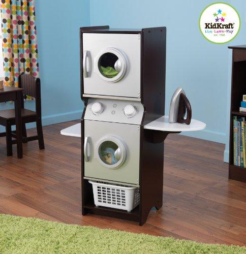 Kidkraft Espresso Laundry Set front-619008