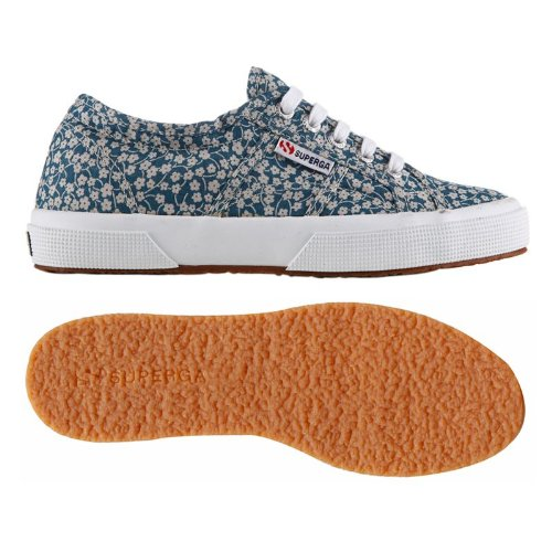 Scarpe Le Superga - 2750-plus Cotw Fabric 11 - Blue - 42