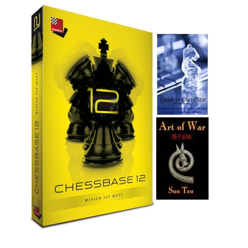 ChessBase 12 Starter Package & Guide to ChessBase DVD & Art of War E-Book (3 item Bundle)