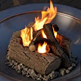 Lawn & Patio - Real Flame 4-Can Outdoor Log Set
