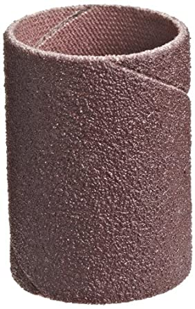 "3M Cloth Band 341D, 1/4"" Diameter x 1/2"" Width, 80 Grit, Brown (Pack of 100)"