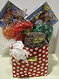 Diabetic Candy Sweetheart Basket Sugar Free