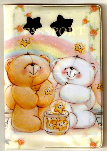 Forever Friends Teddy Bears wishing stars Passport