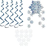 Snowflake Party Decorations – White T…