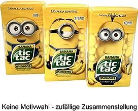 tic tac Minions Edition Banana, 3er Pack (3 x 49g)