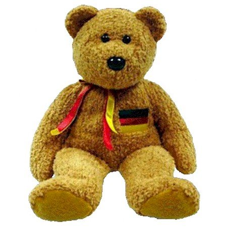 TY Beanie Buddy - GERMANIA the Bear (German Exclusive)
