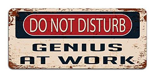 do-not-disturb-genius-at-work-vintage-effect-metal-sign-plaque