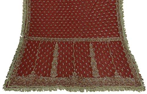 vintage-dupatta-long-stole-net-tissu-perle-rouge-de-mariage-voile-doccasion-stole-zardozi