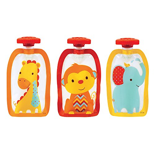 Infantino Fresh Fashion Squeeze Pouches - 1
