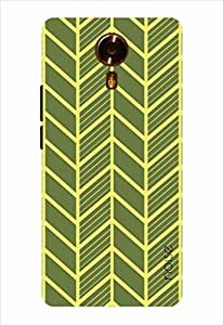 Noise Yellow Veins Printed Cover for Micromax Canvas Xpress 2 E313