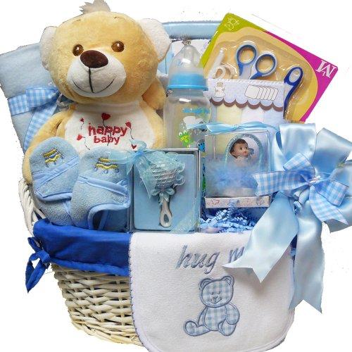 Imagen de Arte de Cestas de Regalo Appreciation dulce del bebé del Special Delivery canasta de regalo con Teddy Bear