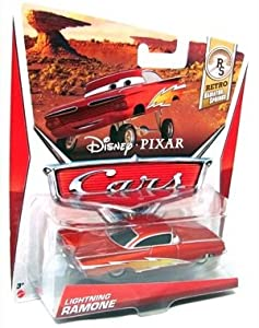 Disney Pixar CARS 2 Movie 1:55 Die Cast Car Lightning Ramone