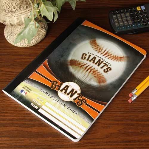 MLB San Francisco Giants Composition Notebook