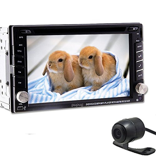 2015 Best New Model 6.2 pouces 2-DIN šŠcran tactile LCD de tableau de bord voiture lecteur DVD avec DVD / CD / MP3 / MP4 / USB / SD / AMFm / RDS Radio / bluetooth / stšŠršŠo / audio Headunit Autoradio lecteur vid&
