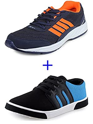 SCATCHITE Combo Pack of 2 Sneaker & Running Sports Shoe