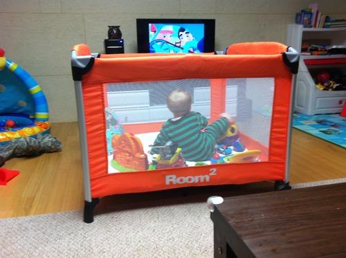 Amazon Com Joovy Room2 Portable Playard Orangie Baby