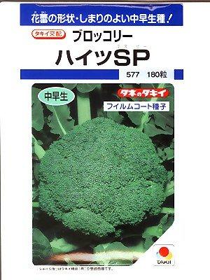 ブロッコリー  ハイツSP タキイ交配  タキイのブロッコリー種です   (グリーンデポ)