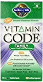 Garden of Life Vitamin Code Perfect Family Multi 120 CNT CAP, Box