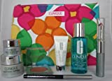Clinique Gift Set 8 items, inc Superprimer, Quickliner, Repairwear Uplifting, Repairwear Laser Focus Eye Cream, Blusher, High Lengths Mascara / Lipstick Duo, Eye Makeup Solvent