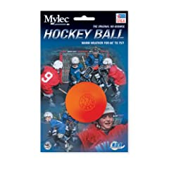 Buy Mylec Warm Weather Hockey Balls, (Pack of 6) ORANGE by Mylec