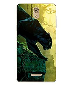 Case Cover Jungle Book Printed Green Soft Back Cover For Coolpad Mega