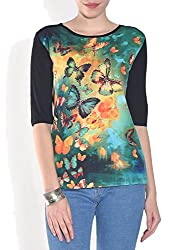 Lotsa Fashion Women's Graphic Design T-Shirt (L)