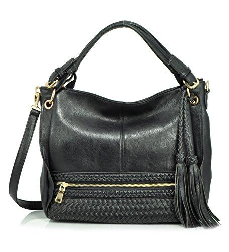 melie-bianco-kira-hobo-shoulder-bag-black-one-size