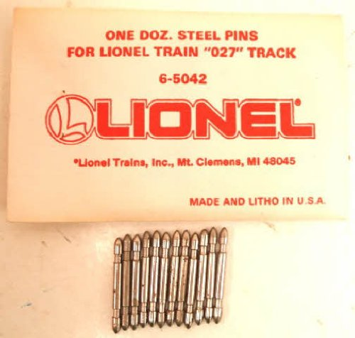 Lionel O-27 Scale Steel Track Pins
