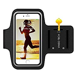 Running Armband,Premium Water Resistant Outdoor Sport Jogging & Exercise Cycle Arms Package Armband Cell Phone Bag Key Holder For iphone 6 (4.7 inch) 6s Plus (5.5 inch) 5s 5c se LG G3 G4 G5