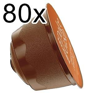 80 x Nescafé Dolce Gusto Caffè Lungo, 80 Capsules