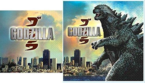 Godzilla Complete Napkin Set 16 Each - 1