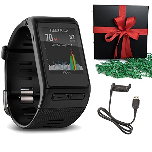Garmin-GPS-vivoactive-HR-Smart-Watch-Black-X-Large-Gift-Pack