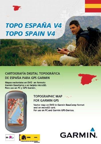 Garmin Topo Spain V4 (1:25,000 - 1:50,000)