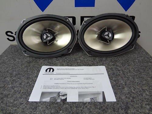 2011-2012 Dodge Ram 1500 2500 3500 Kicker Speaker Upgrade Quad/Crew Front Mopar