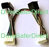 INKA-902828-40-3A ISO SOT Mute Lead for Parrot CK3100, CK3200, MKi9100, MKi9200 and other ISO handsfree kits for vehicles: Honda Accord, Honda City, Honda Civic, Honda CR-V, Honda Element, Honda FIT, Honda FIT Aria, Honda FR-V, Honda HR-V, Honda Insight,