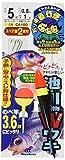 ハヤブサ(Hayabusa) 池・川 小物 ダブルウキ 3,6m 5-0.8 CA100-5-0.8