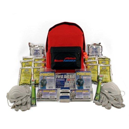 Ready America 70280 Grab-n-Go Emergency Kit, 2-Person, 3-Day Backpack