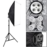 Black 16x 45w Photo Shooting Table Continuous Lighting Kit