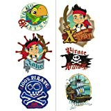 Disney Jake and the Never Land Pirates Tattoos Sheets (2) Party Accessory