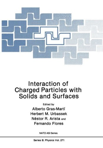 Interaction Of Charged Particles With Solids And Surfaces (Nato Science Series B:)