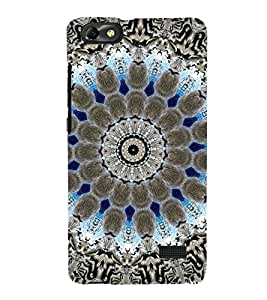 EPICCASE Animated Pattern With lines Mobile Back Case Cover For Xiaomi Redmi Mi4c (Designer Case)