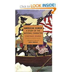 American Humor: A Study of the National Character (New York Review Books Classics)