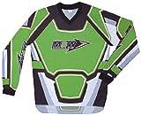 Motorradbekleidung OFFROAD MBW Motocross Hemd MX grün CROSS Größe M
